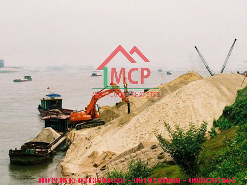 Update the latest construction sand price April 27 2020
