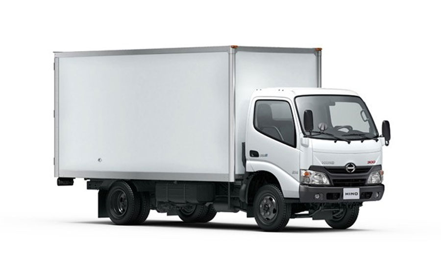 Size of vehicles at light cargo